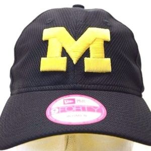 Michigan Wolverines New Era 9Forty Women's Hat